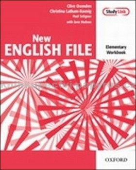 Oxford University Press New English File Elementary Workbook cena od 213 Kč