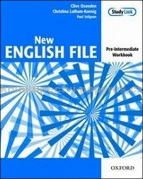 Oxford University Press New English File Pre-intermediate Workbook cena od 213 Kč