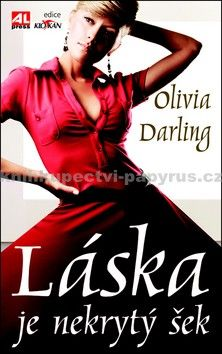 Olivia Darling: Láska je nekrytý šek cena od 119 Kč