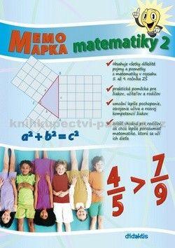 didaktis MemoMapka matematiky 2 cena od 159 Kč