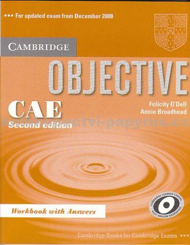 Cambridge university press Objective CAE , Second ed.,W.B. cena od 348 Kč