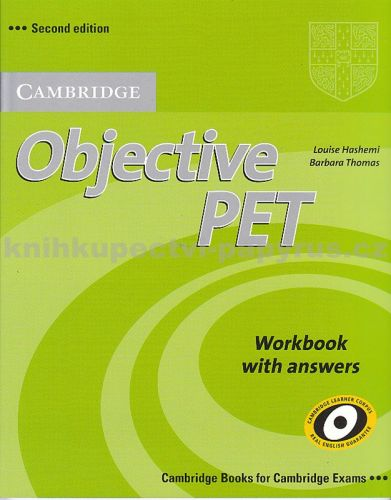 XXL obrazek Louise Hashemi + Barbara Thomas: Objective PET 2nd Edition - Workbook with answers