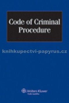Wolters Kluwer Code of Criminal Procedure cena od 435 Kč