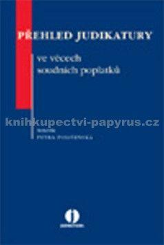Petra Polišenská: Přehled judikatury ve věcech soudních poplatků cena od 254 Kč