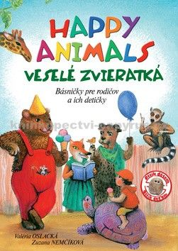 Valéria Oslacká, Zuzana Nemčíková: Happy Animals Veselé zvieratká cena od 105 Kč