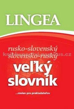 Lingea Veľký slovník rusko-slovenský slovensko-ruský cena od 946 Kč