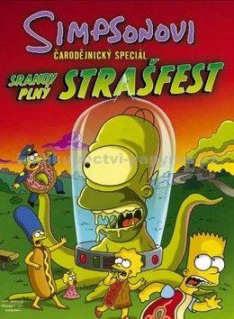 Různí autoři: Simpsonovi Čarodějnický speciál - Srandy plný strašfest cena od 222 Kč