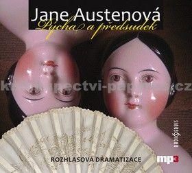Jane Austenová: Pýcha a předsudek - CD mp3