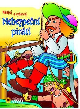 Jordi Busquets: Nebezpeční piráti - nalepuj a vybarvuj cena od 69 Kč