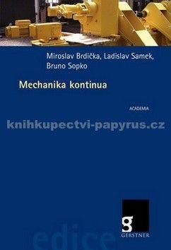 Mechanika kontinua cena od 698 Kč