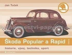 Jan Tuček: Škoda Popular a Rapid cena od 140 Kč