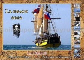 IFP Publishing La Grace 2012 - nástěnný kalendář cena od 86 Kč