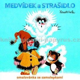 Zdeněk Miler: Medvídek a strašidlo - omalovánka se samolepkami cena od 26 Kč