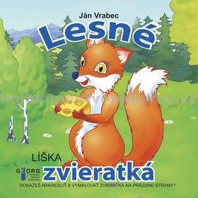 Ján Vrabec: Lesné zvieratká cena od 56 Kč