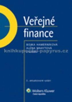 Bojka Hamerníková, Alena Maaytová: Veřejné finance cena od 307 Kč