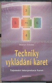 Marion Röbkes: Techniky vykládání karet cena od 215 Kč