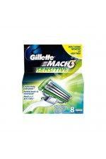 Gillette Náhradní hlavice Gillette Mach 3 Sensitive 8 ks