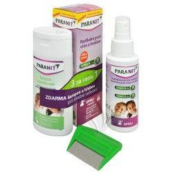Altermed Paranit sprej 60 ml + 40 ml ZDARMA + šampon 100 ml ZDARMA + hřeben ZDARMA