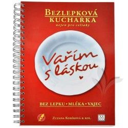 Knihy Bezlepková kuchařka nejen pro celiaky (Zuzana Kobíková & kol.) cena od 288 Kč