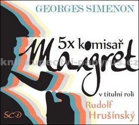 Georges Simenon: CD 5x komisař Maigret