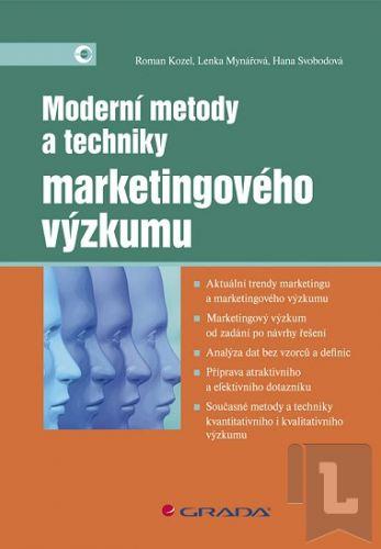 Kozel a Roman: Moderní metody a techniky marketingového výzkumu cena od 0 Kč