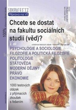 Chcete se dostat na fakultu sociálních studií (věd)? cena od 189 Kč