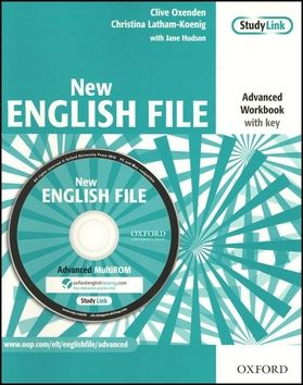 Clive Oxenden: New English File Advanced Workbook with key cena od 261 Kč