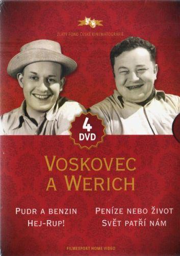 DVD Voskovec a Werich - 4DVD