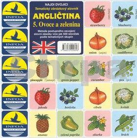 Antonín Šplíchal: Najdi dvojici - Angličtina - 5. Ovoce a zelenina cena od 28 Kč