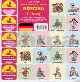 Antonín Šplíchal: Najdi dvojici Němčina - 2. Osoby cena od 25 Kč