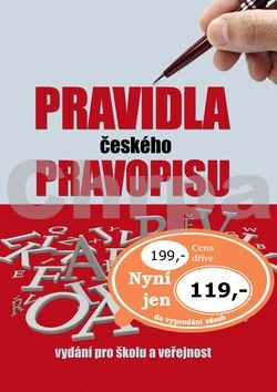 Ottovo nakladatelství Pravidla českého pravopisu cena od 119 Kč