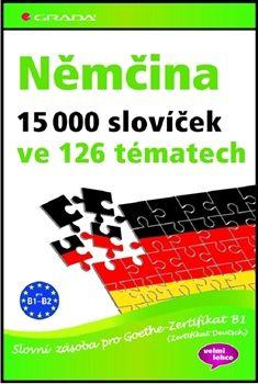 Němčina 15 000 slovíček ve 126 tématech cena od 394 Kč