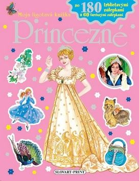 Princezné - Moja ligotavá knižka cena od 0 Kč