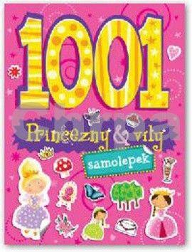 1001 samolepek Princezny a víly cena od 93 Kč