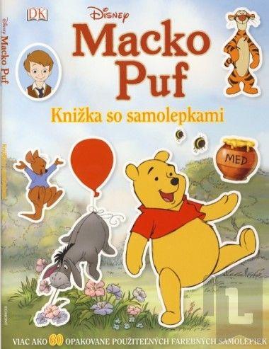 EGMONT Macko Puf Knižka so samolepkami cena od 66 Kč