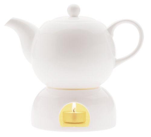 Maxwell & Williams Basics čajník s ohřívačem