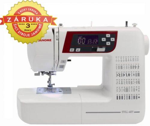 JANOME 603 DXL (2160) cena od 10655 Kč
