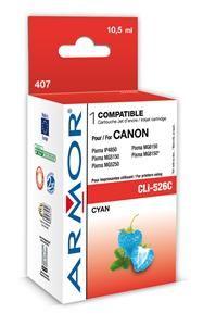 Armor k Canon CLi526C azurová