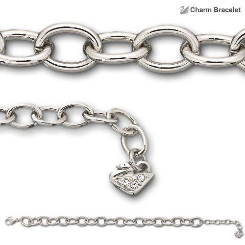 Swarovski náramek CHARMED - ke kombinaci s přívěsky charms