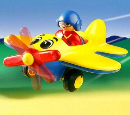 Nepouštějí barvu letadlo s vrtulí playmobil letadlo více zde