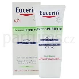 Eucerin Dermo Purifyer noční krém pro mastnou pleť (Hydrating Night Care) 50 ml