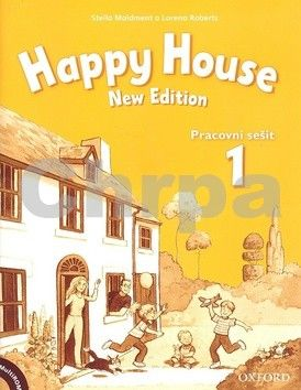 Maidment Stella: Happy House 1 New Edition Activity Book and MultiROM Pack CZ cena od 193 Kč