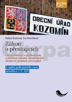 Helena Kučerová, Eva Hrozinková: Zákon o přestupcích cena od 506 Kč