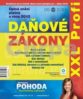 DonauMedia Daňové zákony 2012 XXL Profi cena od 115 Kč