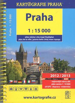Kartografie PRAHA Atlas Prahy cena od 182 Kč