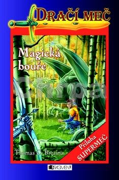 Thomas Brezina: Dračí meč Magická bouře - Thomas Brezina cena od 145 Kč