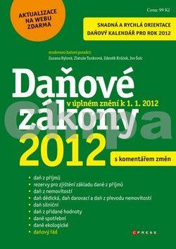 Zdeněk Krůček: Daňové zákony 2012 s komentářem změn cena od 74 Kč
