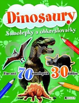 FRAGMENT Dinosaury Samolepky a obkresľovačky cena od 70 Kč