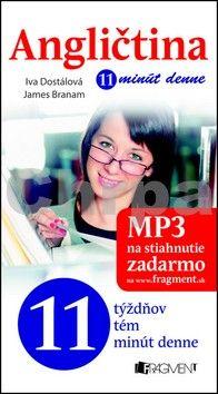 James Branam, Ing. Iva Dostálová: Angličtina 11 minút denne cena od 98 Kč