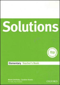 Oxford University Press Maturita Solutions Elementary Techer's Book cena od 388 Kč